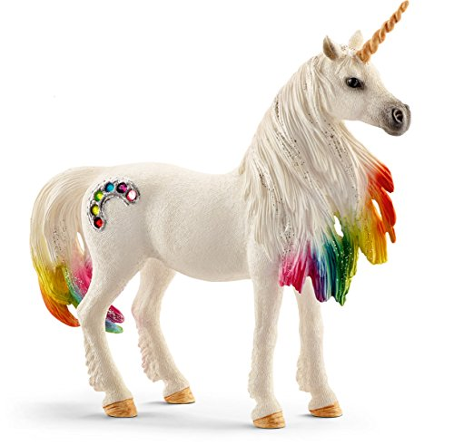 Schleich North America Rainbow Unicorn Mare Toy Figure, Standard for $<!--$13.06-->