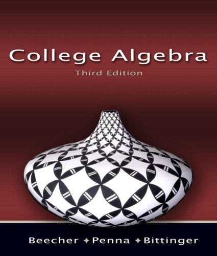 College Algebra Value Package (includes Student's Solutions Manual for College Algebra) (3rd Edition)