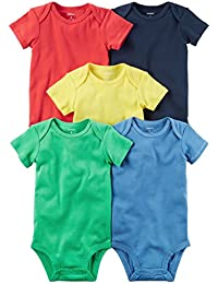 Baby Boys' 5 Pack Bodysuits (Baby)