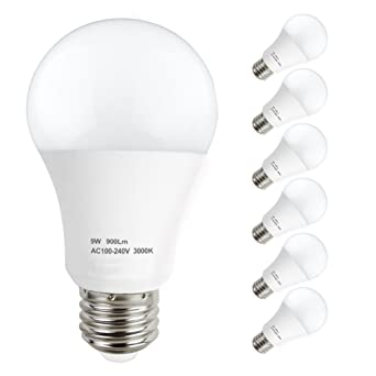 ampoule led 9w equivalent