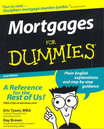 Mortgages For Dummies (For Dummies (Lifestyles Paperback)) ebook