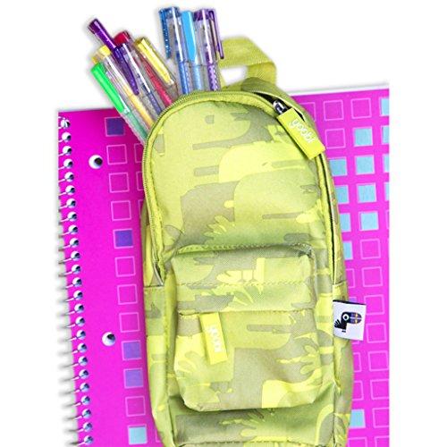 Yoobi Mini Backpack Pencil Case (Green Camo)