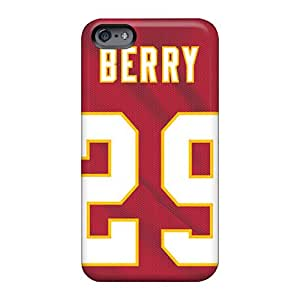 WandaDicks Apple Iphone 6 Shockproof Hard Phone Covers Support Personal Customs Realistic Kansas City Chiefs Pictures [RTh19959RlfZ]