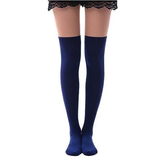 552692a8e22 Amazon.com  Thigh High Socks for Women