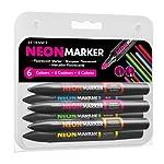 LETRASET Neon Marker, Set 1 by Letraset