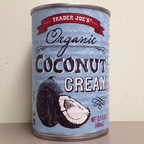 Trader Joes Organic Coconut Cream