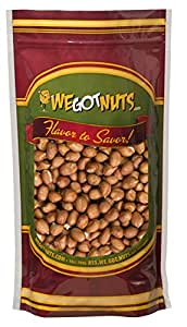 Raw Redskin Peanuts (Unsalted) 5LB Bag Bulk - We Got Nuts