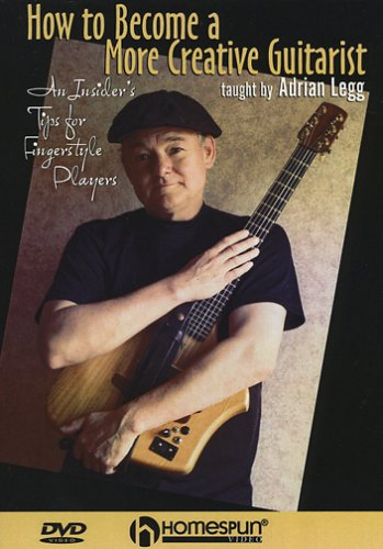 Fingerstyle Guitarist Dvd (How To Become a More Creative Guitarist-An Insider's Tips for Fingerstyle Players)