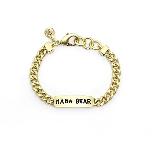 Sugar Blossom Mama Bear (Gold), Identbändchen mit