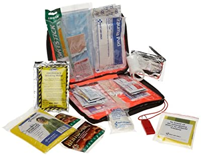 First Aid Only American Red Cross Emergency Preparedness W/first Aid Kit, Soft Case from First Aid Only
