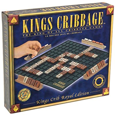 Everest Toys Kings Cribbage, The King of All Cribbage Games Board Game: Toys & Games