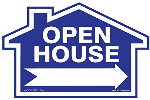 3 Pack Open House Sign Kit Double Sided Signs Amp H Stakes