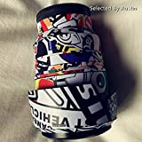 RAYANSPHOTO Lens Guard Skins Wrap Cover Decal Protector Wear Case for Sony Zoom Lenses Series Pattern Graffiti (FE 90mm F2.8 G Macro)