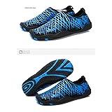 W1arorinced Mens Womens Water Skin Shoes Quick Dry Aqua Socks Barefoot Shoes for Beach Swim Surf Yoga Sea nest yellow