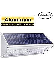 1100lm La luz solar 48 LED 4500mAh de una aleación de aluminio