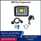 HERCHR Immobilizer Auto Remote, SBB Lastest V46.02 Software Car?s Key Maker Programmer, Black