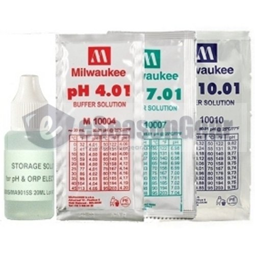 4x20ml, Storage + pH 4 + 7 + 10 Buffer Calibration/Solution/Fluid/Probe/Tester
