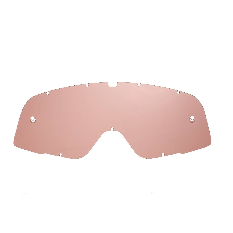 SeeCle 41S232 lentilles de rechange pour masques orange effet miroir compatible avec masque 100% Barstow