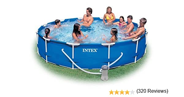 Intex 28211EH - Piscina (Piscina Hinchable/con Anillo Hinchable ...