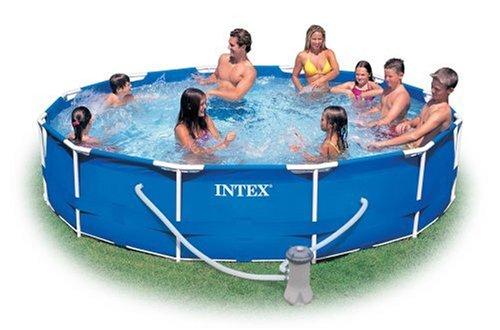 Amazon.com: Intex 12 Foot By 30 Inch Metal Frame Pool Set: Garden U0026 Outdoor