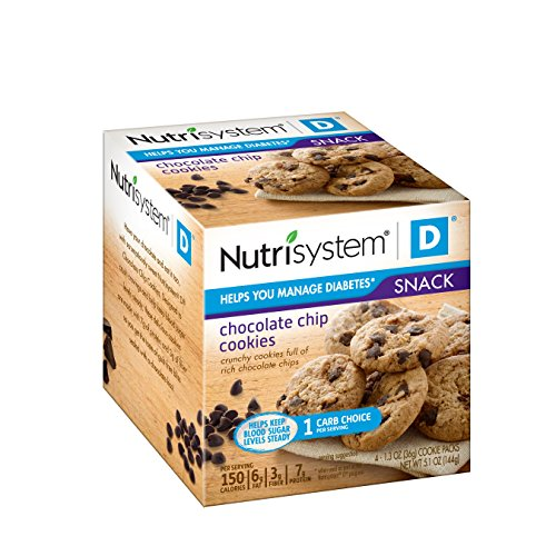 Nutrisystem D Chocolate Chip Cookies, 24 pack
