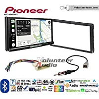Volunteer Audio Pioneer AVIC-W8400NEX Double Din Radio Install Kit with Navigation, Apple CarPlay and Android Auto Fits 2007-2010 Hyundai Elantra