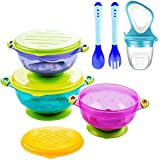 Suction Baby Bowls for Toddlers, Baby Feeding Bowls...