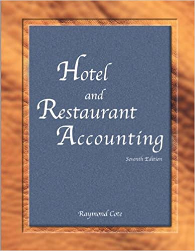 Book Hotel and Restaurant Accounting with Answer Sheet (Ahlei) (Ahlei - Hospitality Accounting / Financial Management)