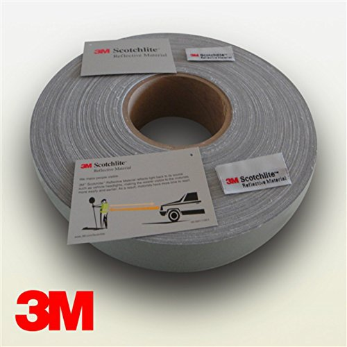 3 M?-Protectores de coser reflectantes bandas reflectoras, 25 mm x 5 MT homologados normativa EN471-5MT x 25 mm: Amazon.es: Coche y moto
