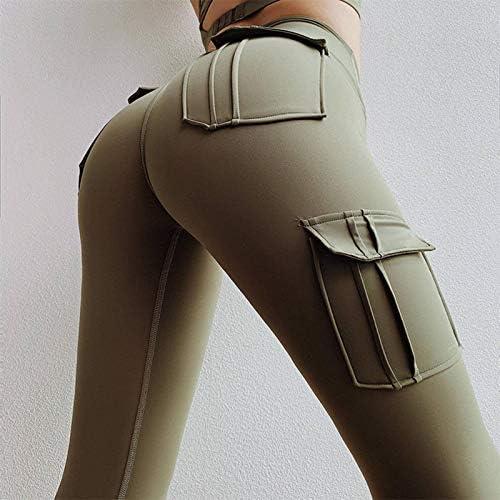 Yoga Pants High Waist Yoga Pants Leggings Fitness Pants Fitness Track Pants Hips High Waist Sports Leggings Fitness Running Pants