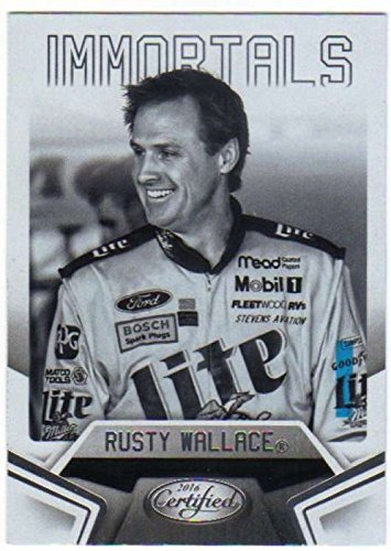2016 Panini Certified NASCAR Racing #82 Rusty (Rusty Wallace Card)