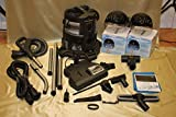 Rainbow e2 vacuum (Blue Platinum) NEWER 2-Speed model EXCLUSIVE Royal Line Pro ULTRA DELUXE BONUS PACKAGE w/2 exclusive air purifiers & turbonozzle!!! (renewed to like new condition)