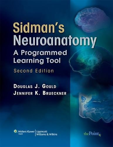 Pdf Medical Books Sidman's Neuroanatomy: A Programmed Learning Tool (Point (Lippincott Williams & Wilkins))