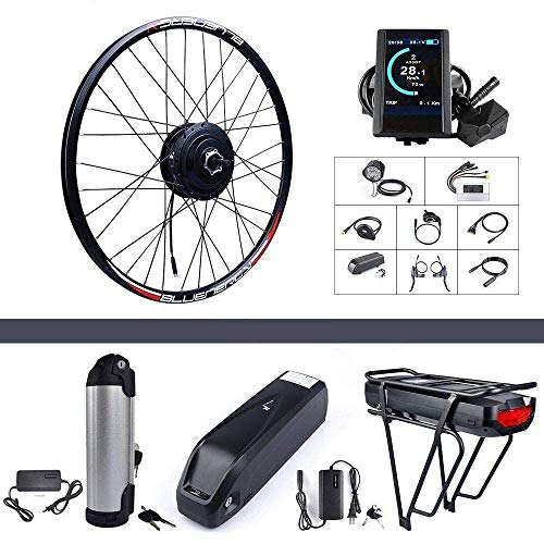 BAFANG 48V 500W Rear Hub Motor Kit Electric Bicycle Conversion Kit for Bikes 26