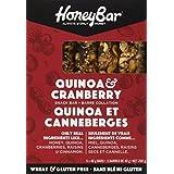 HoneyBar Snack Bars, Quinoa & Cranberry, Gluten-Free, Non-GMO, Vegetarian, 40 g Bars, 5 Count