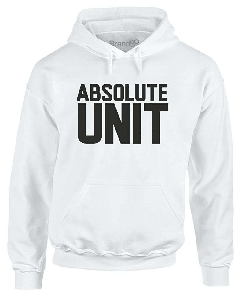 Brand88 Absolute Unit Adults Hoodie Clothing Jaket Jumper Abslt