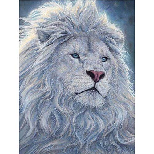 Moohue Needlework Counted Cross Stitch Kits Lion King 14CT Cross Stitch Fabric DMC Cotton Thread Art Crafts (Lion King)