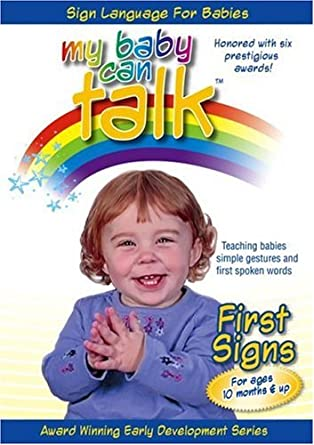 8ab9c410e Amazon.com  My Baby Can Talk - First Signs  Baby Hands Productions ...