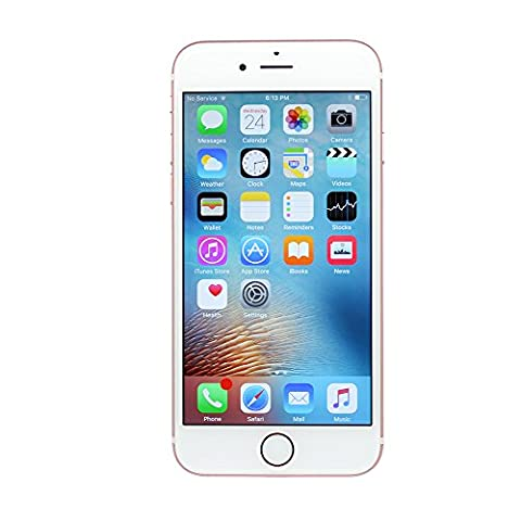 Apple iPhone 6s Plus a1687 16GB Rose Gold Smartphone GSM Unlocked (Certified Refurbished) (Iphone 5 C 16 Gb Unlocked New)
