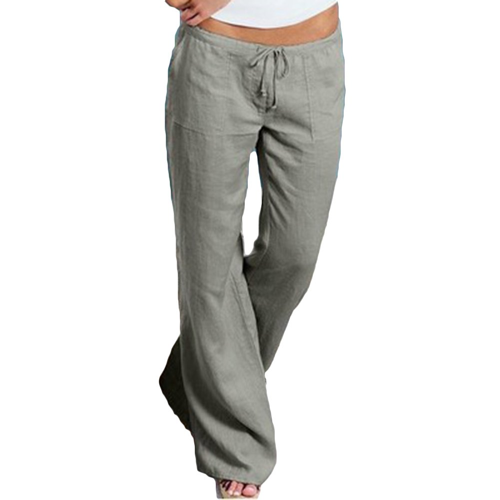 cheyuan Donna Pantaloni Bootcut Pantaloni per Danza Yoga Eleganti Colore solido Lungo Pantaloni Flare Pantaloni Casual Dell'Alta Vita Gamba Larga Partywear Streetwear XS-4XL P171219KZ16-an