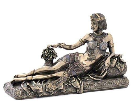 Veronese (ヴェロネーゼ) 横たわる女王 寝椅子 エジプト ブロンズ風 置物 フィギュア B076GL8DWD