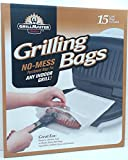 Sunbeam UGB-15PDQ Master No-Mess Parchment Grilling Bags for any Indoor Grill, White