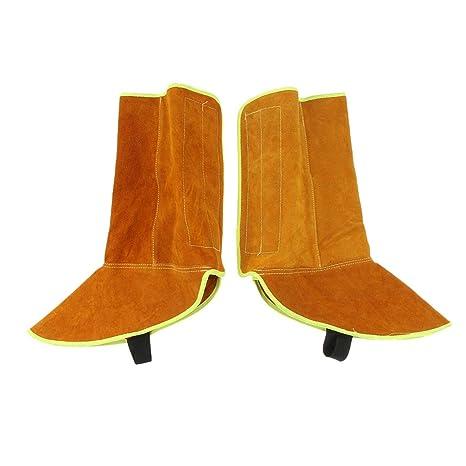 SM SunniMix Soldadura Zapatos Protector de Pies Soldador Suministros de Trabajo Equipo Industrial Escolar
