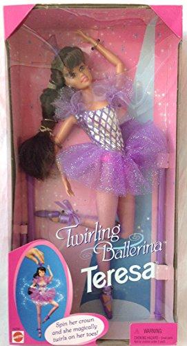 Mattel Barbie Ballerina Doll (Mattel Barbie Twirling Ballerina Teresa 11