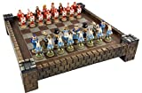 HPL Alice in Wonderland Fantasy Chess Set with 17 1/2' Castle / Fortress Board