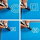 X Large 3D Printing Pen Silicone Design Mat with