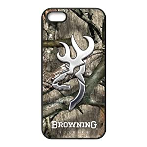 DiyCaseStore Browning Cutter Logo Camo iPhone 5 5S Hard Case Cover Protector Gift Idea