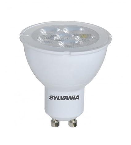 Bombilla led dicroica 5W 230V de gran luminosidad. Marca Sylvania