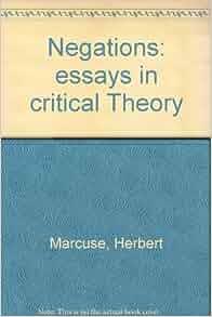 Critical theory essay