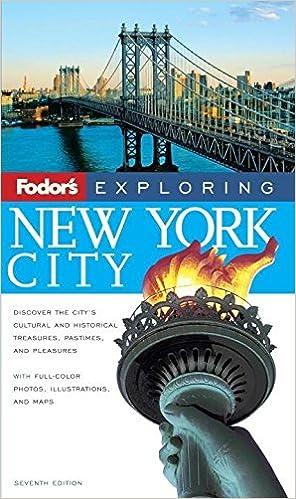 7th Edition Fodors Exploring New York City